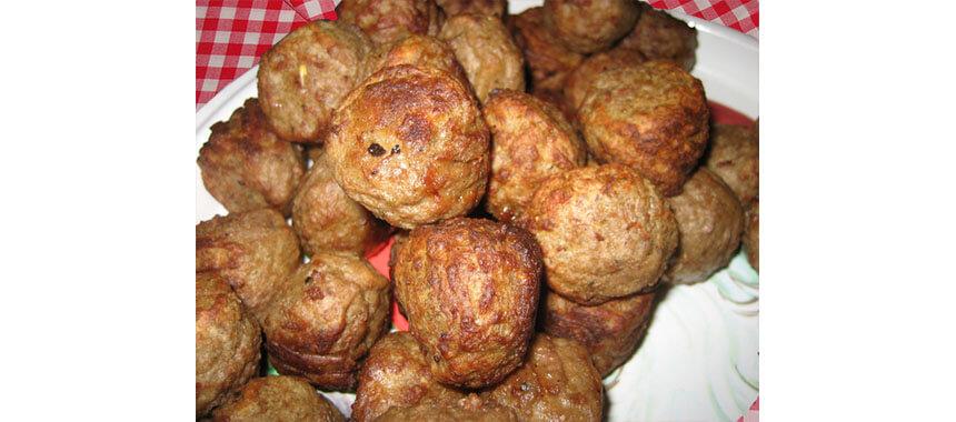 Chiftelute de soia cu ciuperci