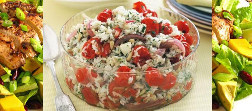 Salata de orez cu menta
