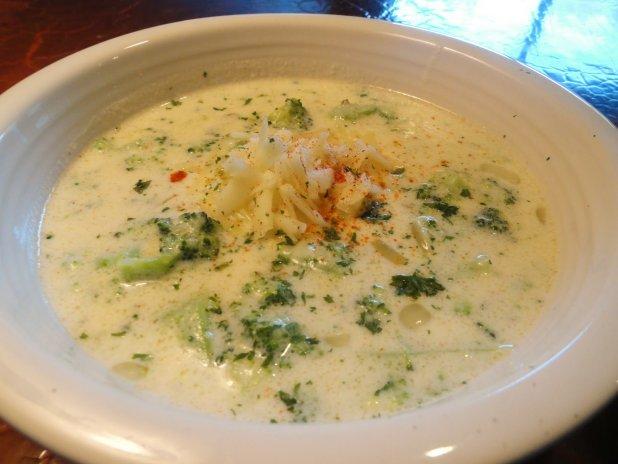 Supă cu cașcaval