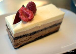 """Tort """"Trio de ciocolata"""""""