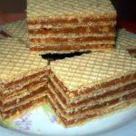 Napolitana cu crema de caramel