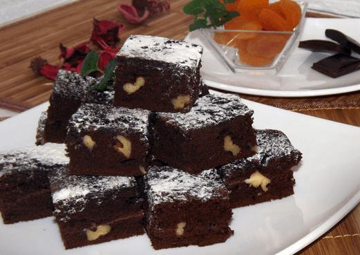 Negresa cu ciocolata si nuca