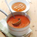 Supa crema de rosii cu morcovi