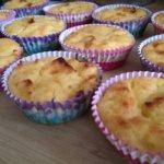 Muffin cu branza