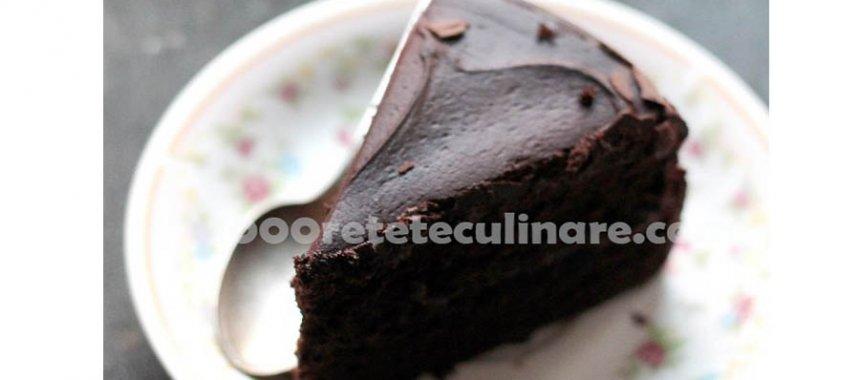 Prajitura magica de ciocolata neagra