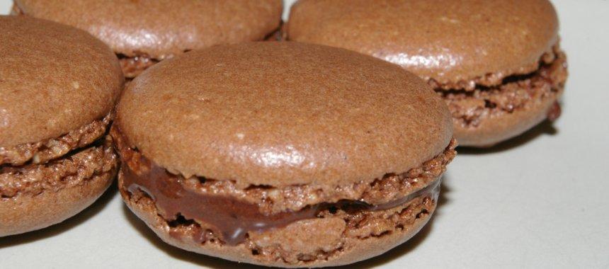 Reteta de macarons cu ciocolata