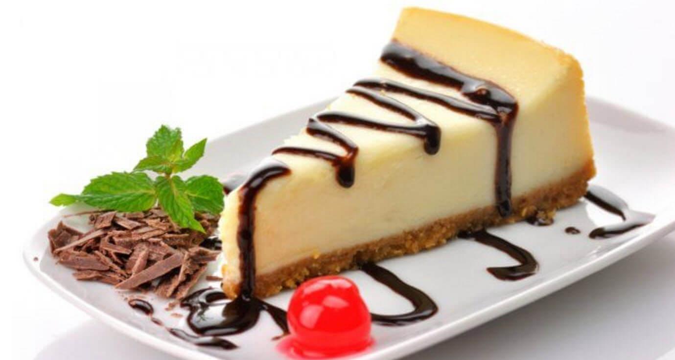 Cheesecake simplu